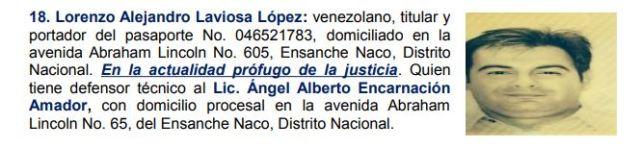 Venezolanos acusados de lavado de dinero en Rep. Dominicana - Banco Peravia