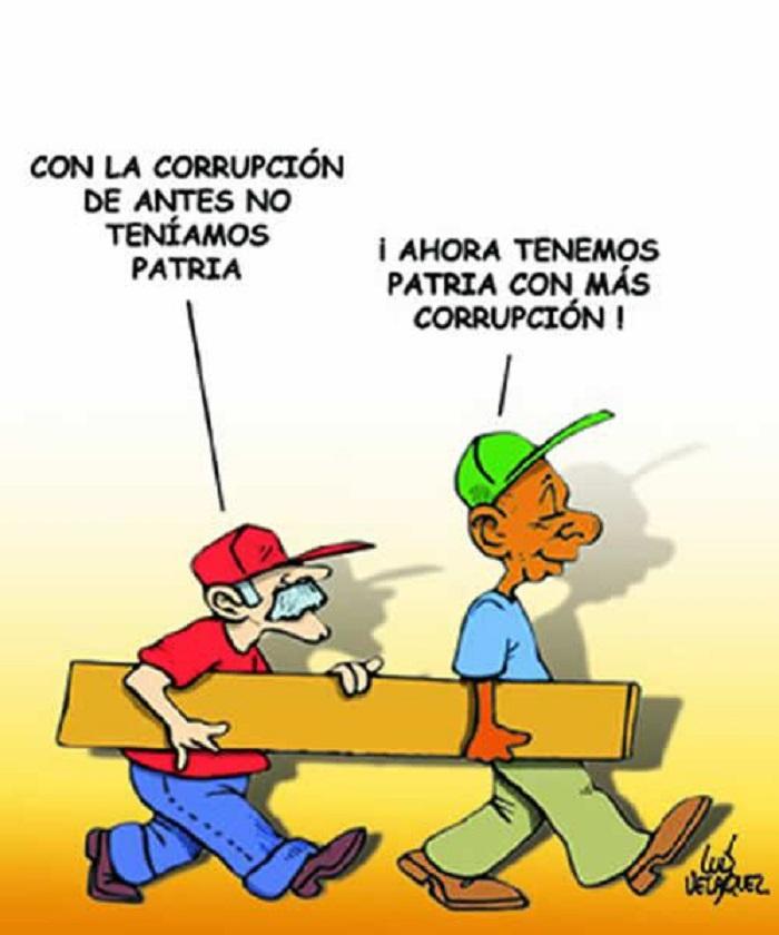 caricatura corrpcion