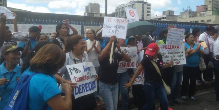 profesores fe y alegria, protesta ministerio de educacion (3)