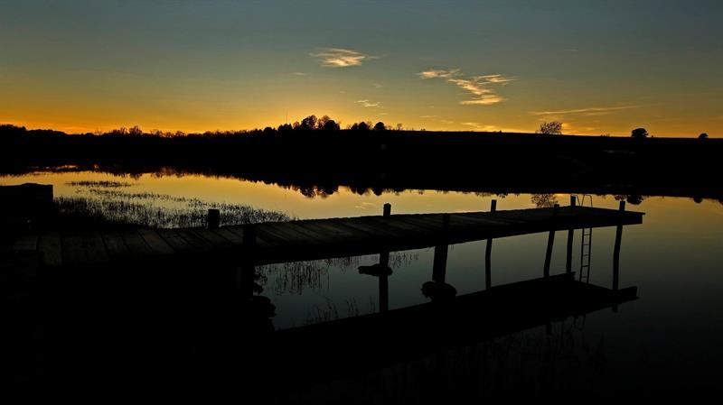 puesta de sol kansas, eeuu
