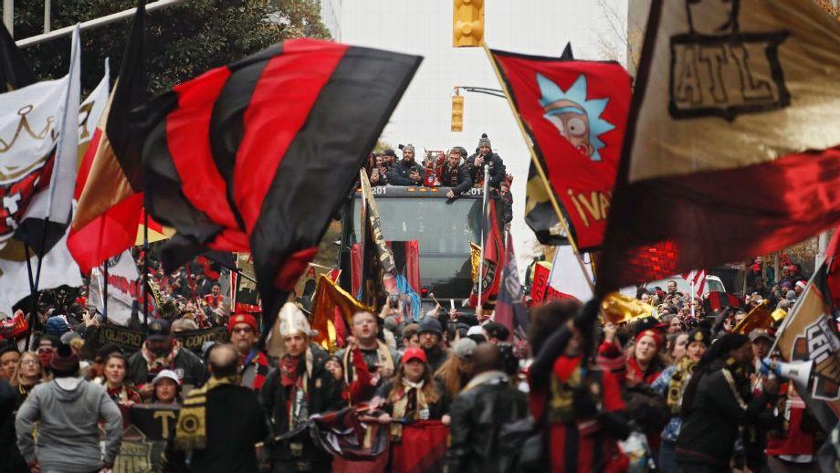 Atlanta United desfile 3