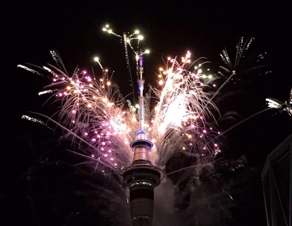 Año Nuevo en Nueva Zelanda