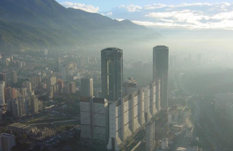 Frío en Caracas - Torres de Parque Central