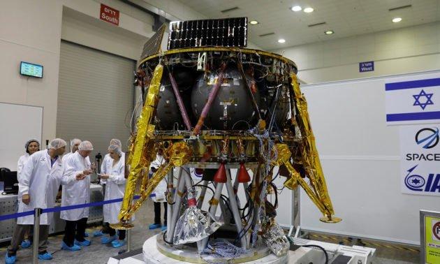 Israel presenta su primera cápsula lunar 2