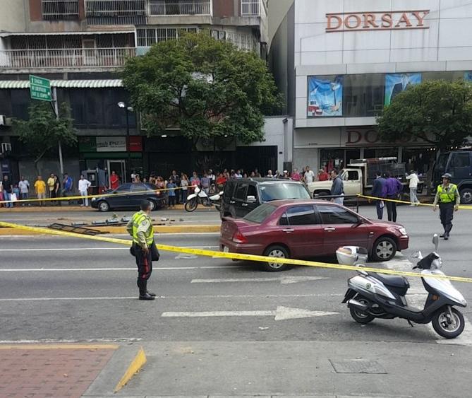 Secuestro en Chacao