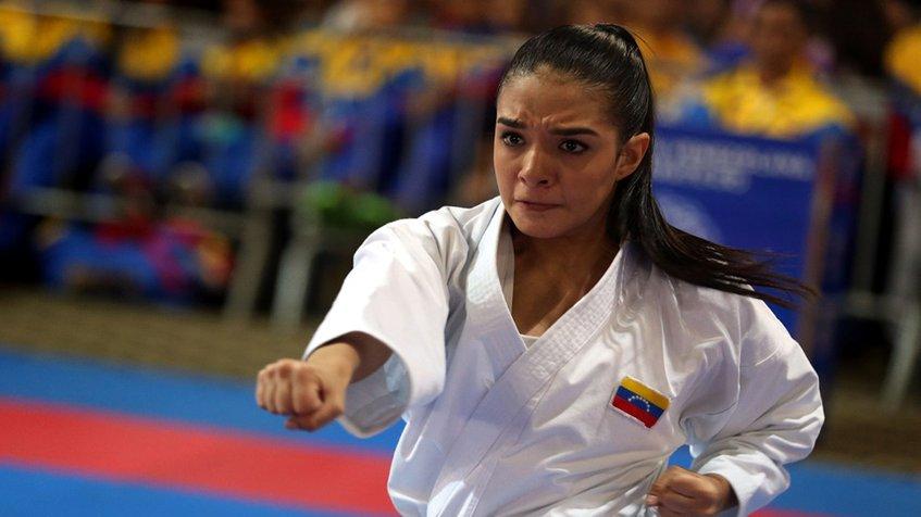 karateca venezolana Andrea Armada,